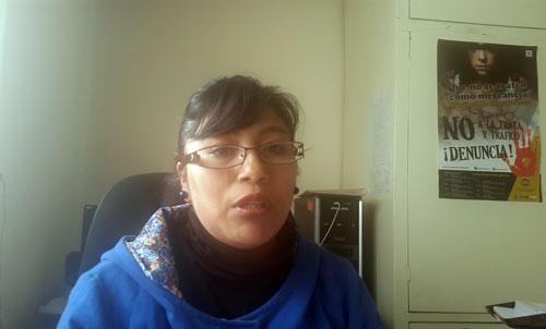 Lizeth Mollo desmiente al periodista argentino Diego Granda
