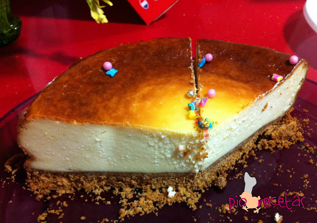 porcion new york cheese cake