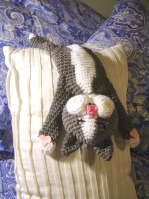 Laid Back Cat Amigurumi : Crochet Parfait: Annes Yorkie