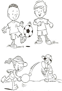 Brincadeiras crianças-bola