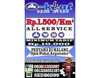 """Ojek Online Malang """"OKLAT"""""""