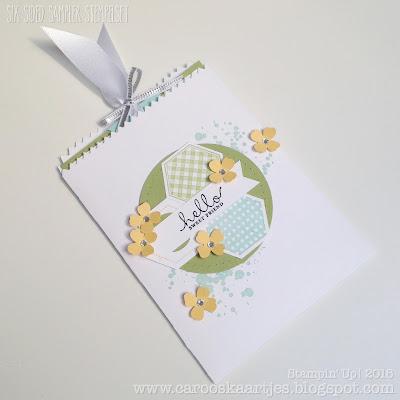 Stampin' Up! producten zijn verkrijgbaar via carooskaartjes@hotmail.nl