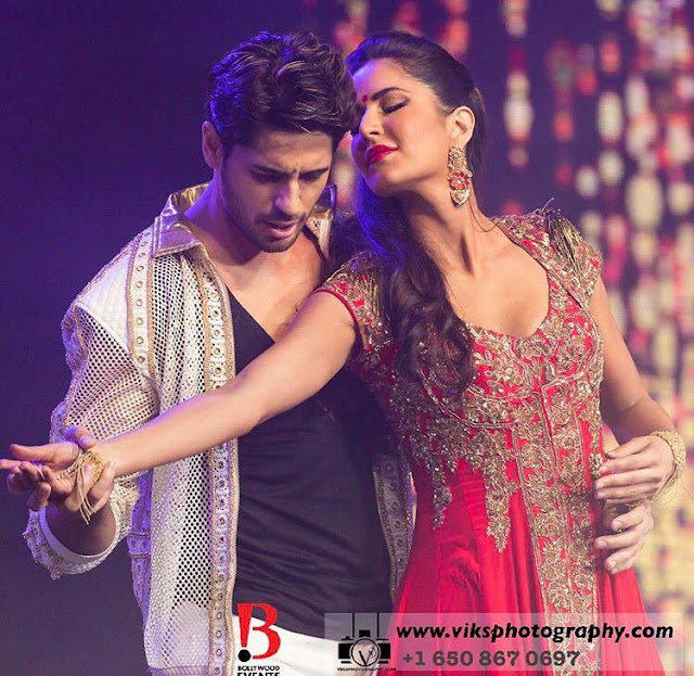 Sidharth Malhotra and Katrina Kaif at Dream Team Tour