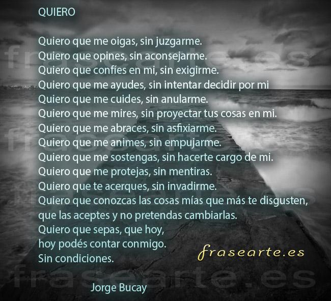 Poemas de amor Jorge Bucay