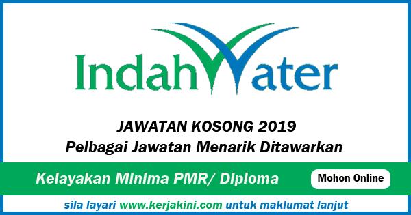 Jawatan Kosong 2019 Indah Water Konsortium Sdn Bhd