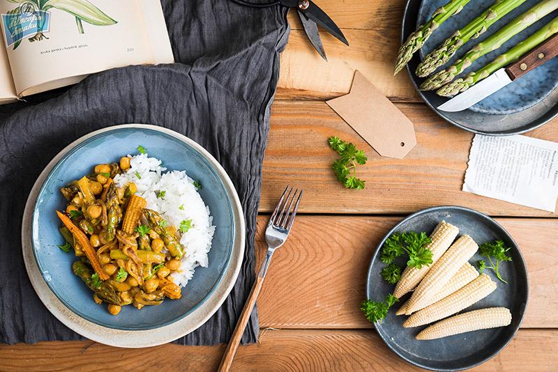 Żółte curry przepis