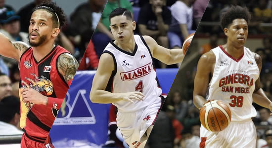 LIST of PBA Players from Hawaii, Chicago, Maryland, Michigan, North Carolina, South Dakota, Texas, and Washington as of 2019 PBA Philippine Cup