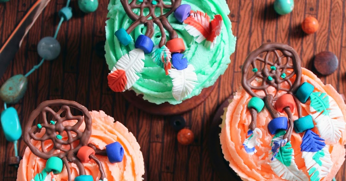 Worth Pinning Dream Catcher Cupcakes