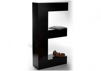 Bookshelf Giant Letters A And E