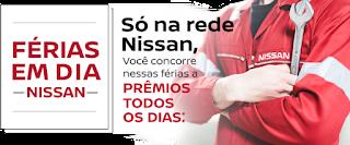 Promoção Férias em Dia Nissan