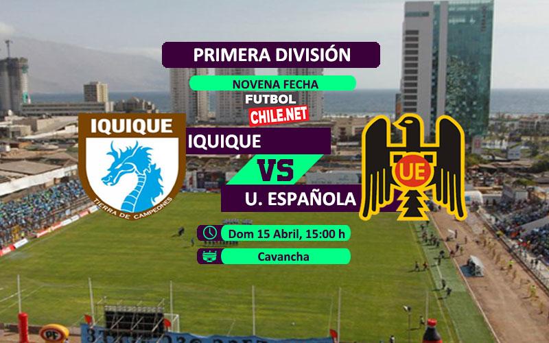 Deportes Iquique vs Unión Española - 15:00 h - Primera División - 15/04/18