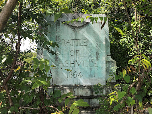 Welcome to the jungle: Battle of Nashville monument 'remains'