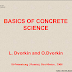 EBOOK - Basic Concrete Science (L. Dvorkin and O.Dvorkin) - Khoa học bê tông