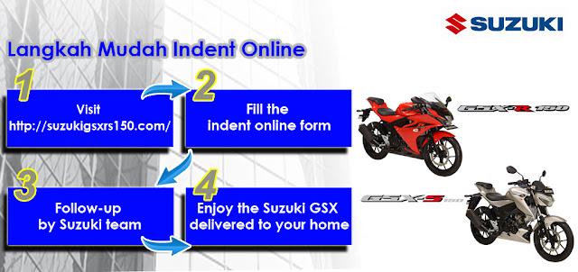 Inden online Suzuki GSX-R 150 dan GSX-S 150