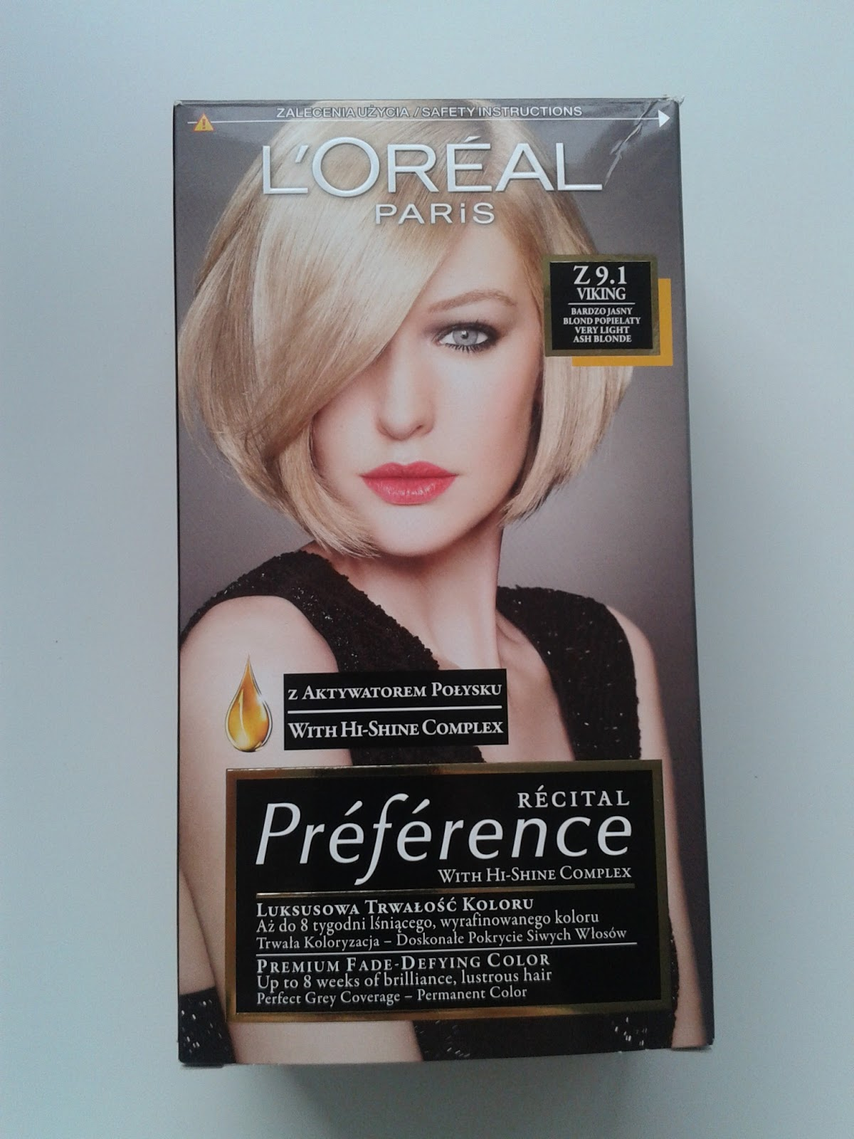 Cest Tres Chic Loreal Preference Viking 91