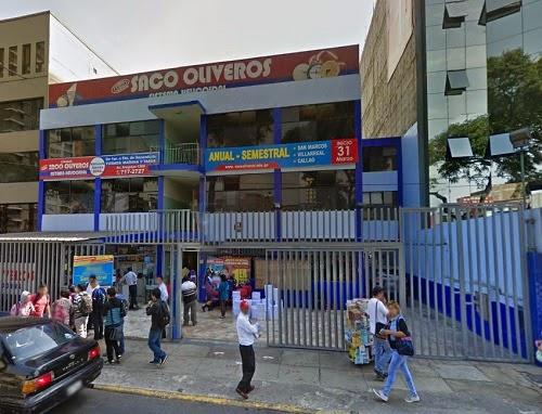 Colegio Saco Oliveros De Santa Beatriz Lima Cercado