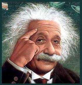 Einstein ilmuwan fisika berpikir