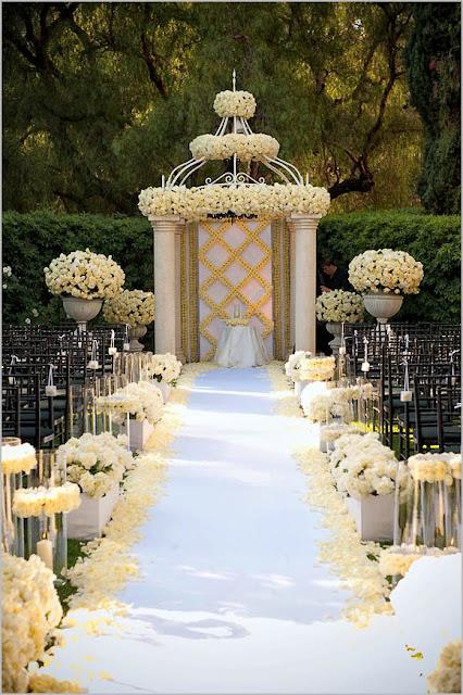 Wedding Decorations: Wedding Aisle Decoration Ideas