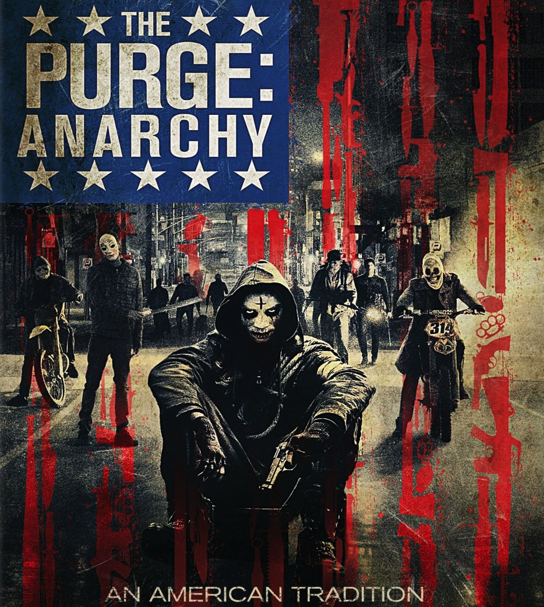 the purge anarchy The purge: anarchy is a american horror-thriller directed and written by james demonaco the film is a sequel to 2013s the purge the.