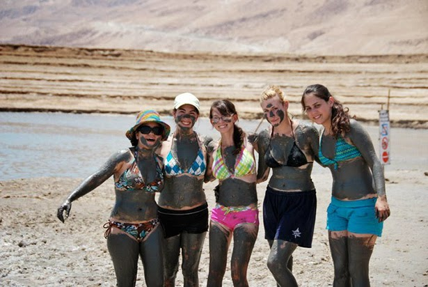 Dead sea mud, Israel
