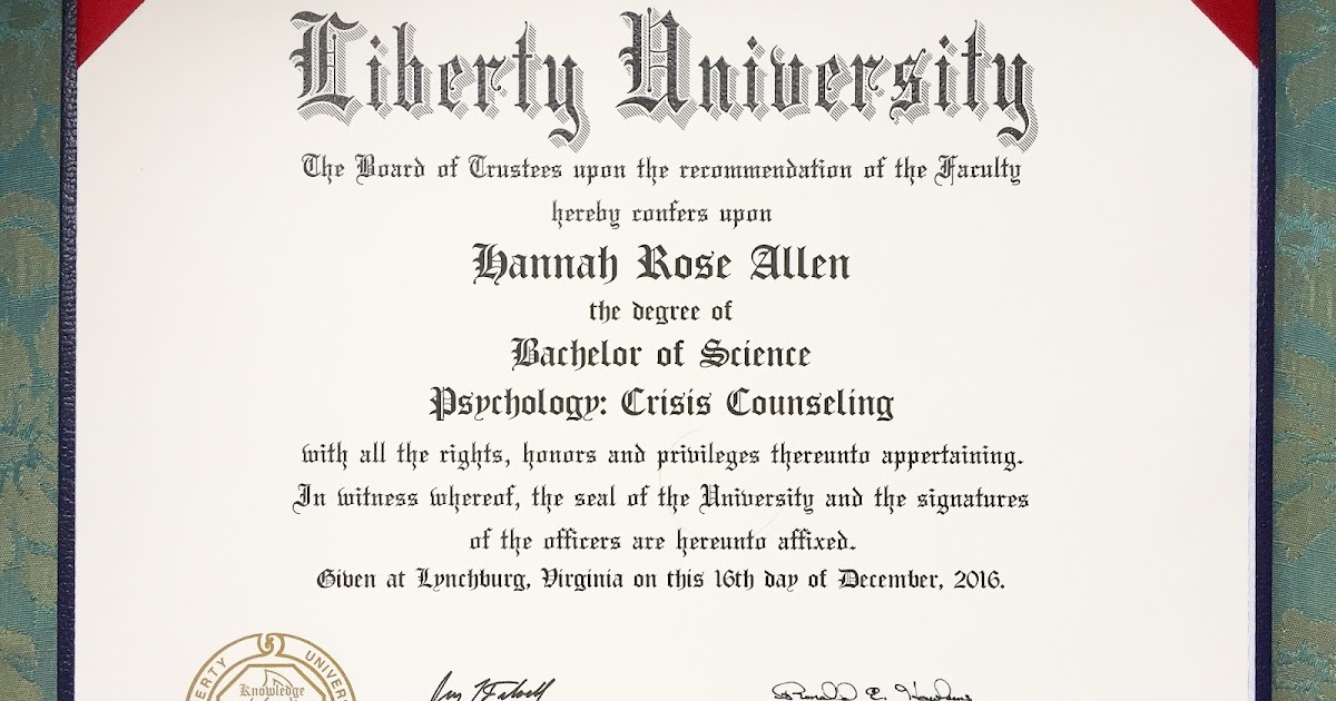Rose and Her Lily: College Diploma!