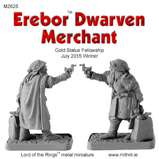 Erebor Dwarven Merchant with toys.
