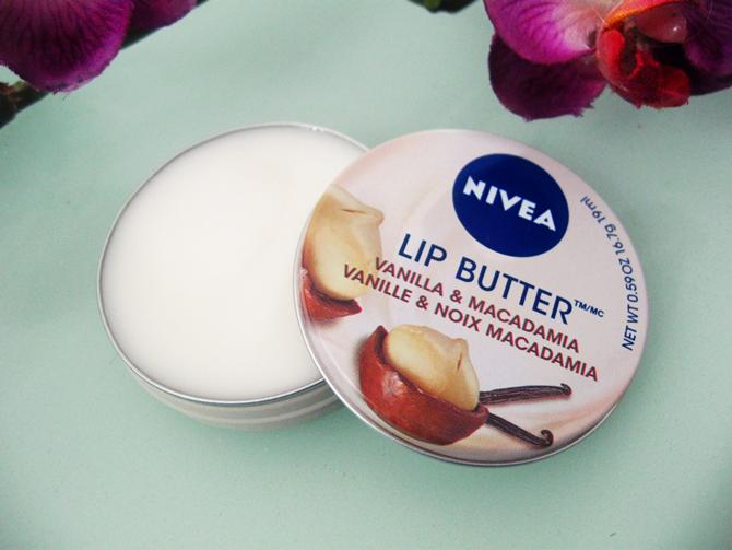 Nivea Lip Butter Vanilla e Macadamia