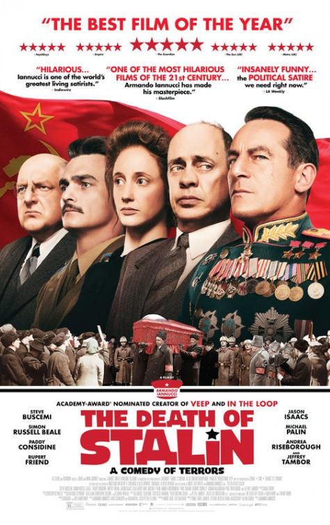 Trustmovies armando iannucci 39 s the death of stalin for Best farcical films