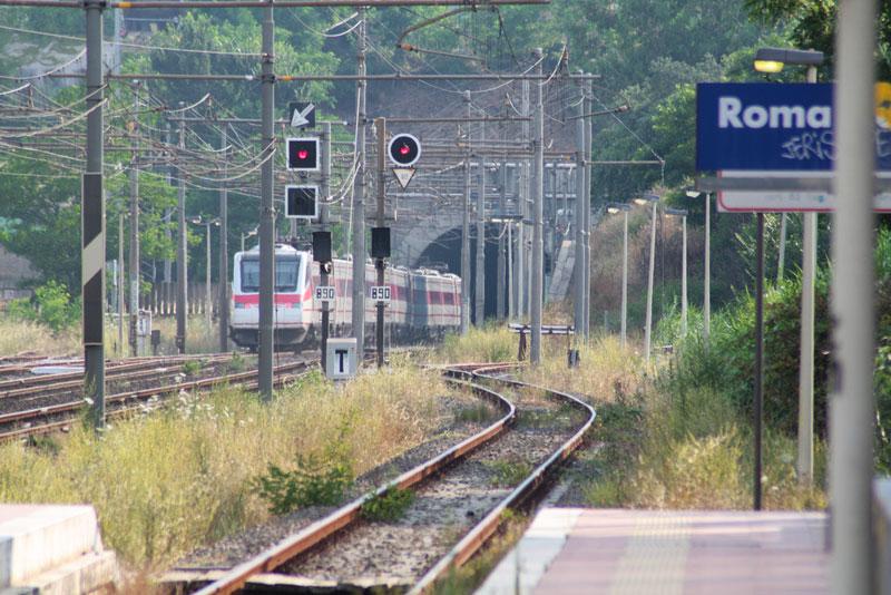 Estación de tren de Roma