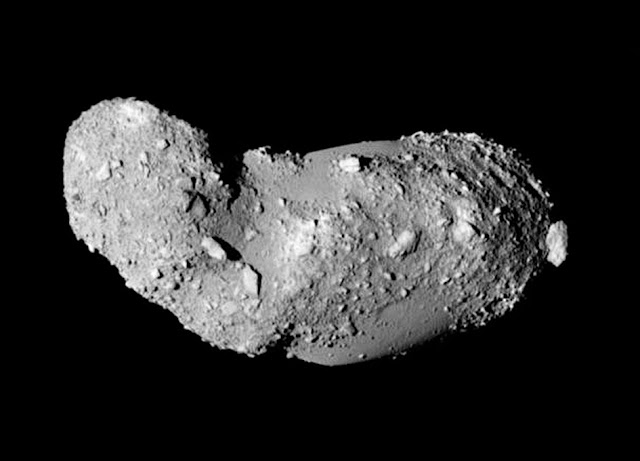 Samples brought back from asteroid reveal 'rubble pile' had a violent past