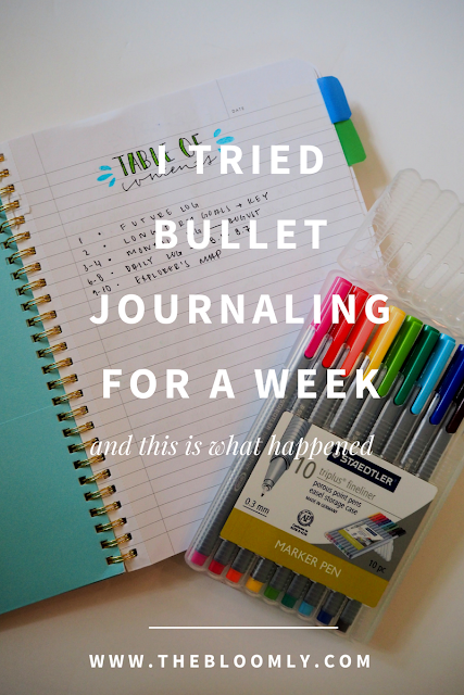 I Tried Bullet Journaling for a Week