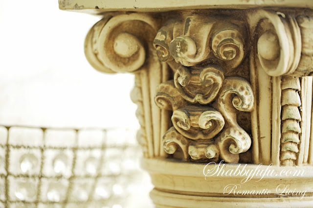 vintage french columns