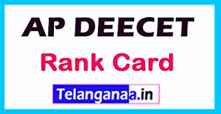 APDEECET (DIETCET) TTC Rank Card 2017 Download