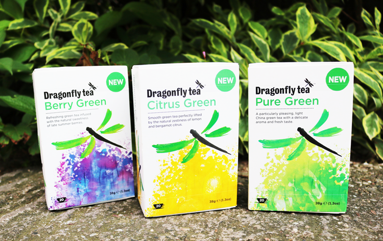 Dragonfly Green Tea range review