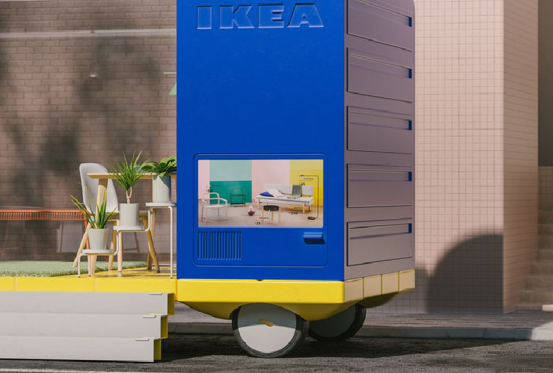 Space on Wheels Pop up Store IKEA - SPACE10