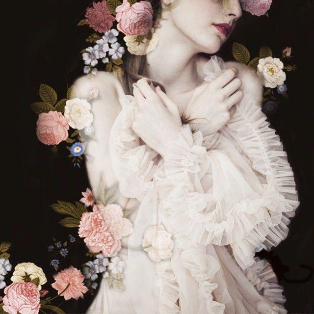 Romantically feminine and ethereal fashion photography from Monia Merlo - found on Hello Lovely Studio