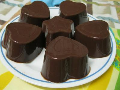 Gambar Resep Puding Coklat Asli Enak