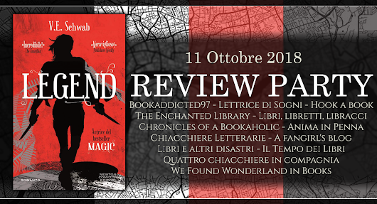 Recensione (Review Party) | Legend (Shades of Magic #2) - Victoria E. Schwab