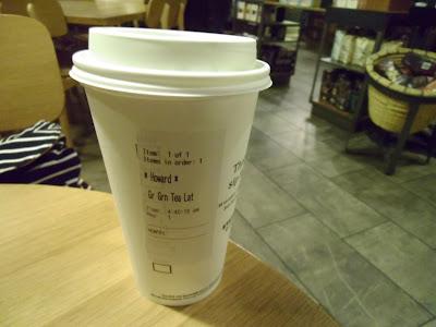 Starbucks Grande Matcha Green Tea Latte Cup