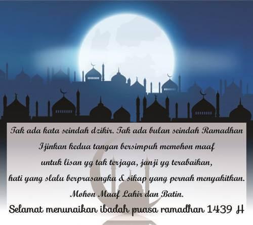 kata-kata, ucapan menyambut ramadhan 2018, kata ucapan ramadhan