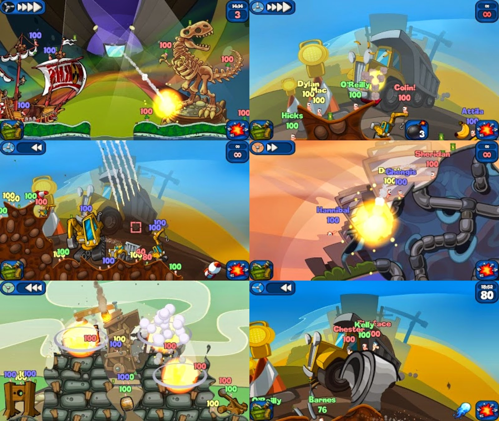 Worms 2 Armageddon Apk Data v1.4.1 For Android