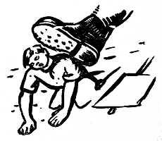 হাসান হাফিজুর রহমান সম্পাদিত একুশে ফেব্রুয়ারি সংকলনে মুর্তজা বশীরের লিনোকাট