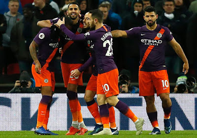 Highlight Tottenham Hotspur 0-1 Manchester City, 29 Oktober 2018