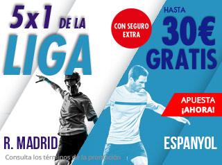 suertia promocion 30 euros Real Madrid vs Espanyol 22 septiembre