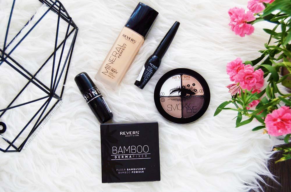 Revers Cosmetics - tanie, ale czy dobre?? + Makijaż wykonany kilkoma kosmetykami tej marki