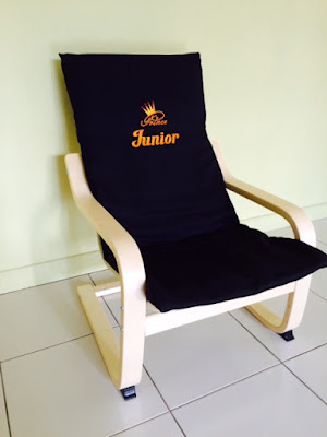 Personalized Kids Chair - side view