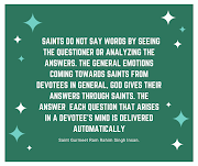 Words of Saints are Priceless