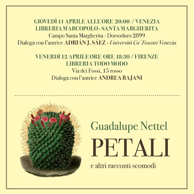 GUADALUPE NETTEL ALLA MARCOPOLO - Giovedì 11 aprile alle 20