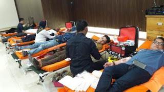Rutin, TPK Koja Selenggarakan Donor Darah