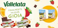 Logo Vallelata ''Finalmente una piccola gioia'': vinci gratis 63 cofanetti Emozione3 !